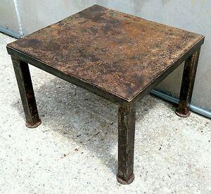 Tavolino Salotto Stile.Dettagli Su Eccezionale Tavolino Da Salotto In Stile Industriale