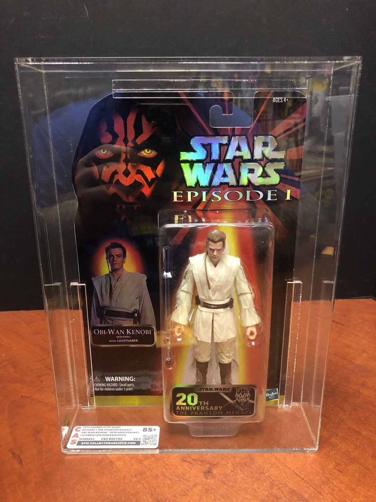 2019 Estrella Wars episodio 1 Obi-Wan Kenobi 20th celebración Excl. CAS 85+ EM3567