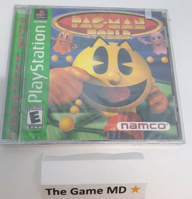 Pac-Man World 20th Anniversary (Sony PlayStation 1, 1999) Factory Sealed