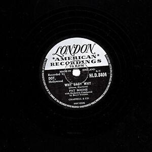 Rarer E aspettando 8404 sto Hld London solo Boone Pat 78 Why Ti Baby UK OFOr8wq6