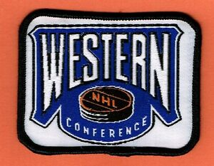 Nhl Western Conference National Hockey League Patch Ebay