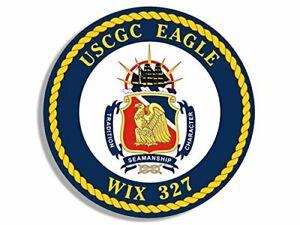4x4-inch-Round-USCGC-Eagle-WIX-327-Seal-Sticker-Logo-Coast-Guard-Cutter