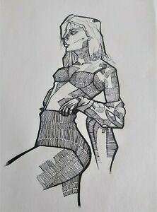 Original-Art-dibujo-a-tinta-tecnica-de-entramado-lamina-original-artista-MreC