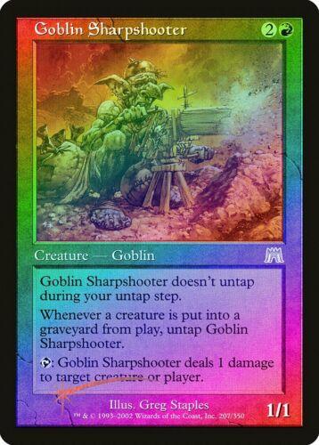 Goblin Sharpshooter FOIL Onslaught PLD Red Rare MAGIC GATHERING CARD ABUGames