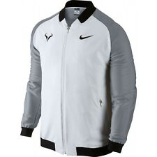 Nike NikeCourt Rafael Nadal Rafa Sportswear Jacket L White Tennis Dri-Fit