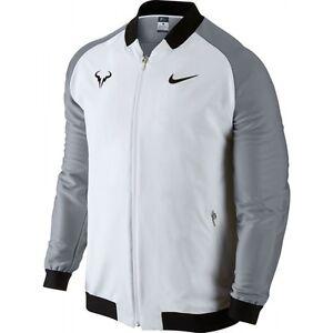 Nike Nikecourt Rafael Nadal Rafa Sportswear Jacket L White Tennis Dri Fit Ebay