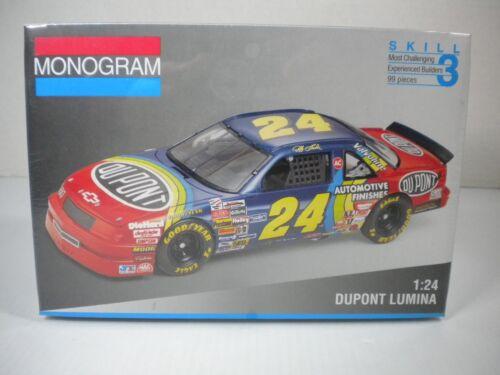 NEW Monogram Jeff Gordon #24 DUPONT LUMINA 1//24 Scale Model Kit SEALED 1993