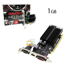 SCHEDA VIDEO 1GB DDR3 PCI EXPRESS RADEON 5450 1 GB 1024MB VGA/DVI/HDMI 64 BIT