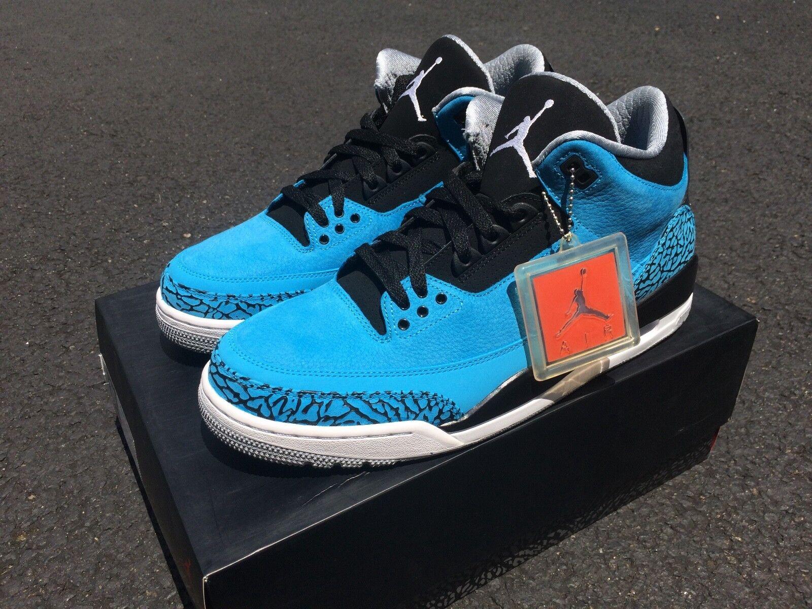 sneakers for cheap 0b6a0 890c8 Nike Nike Nike Air Jordan 3 Powder Blue Size 11 DS 49e0e5