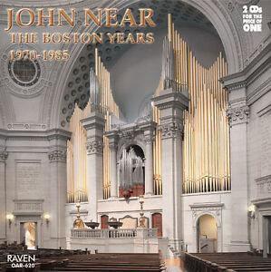 Details about John Near: The Boston Years 2-CD set, Aeolian-Skinner 237  ranks, Mother Church