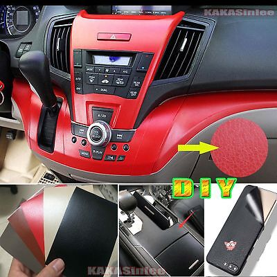 DIY Matte Leather Decal Textured Vinyl Sticker Tape for Car Phone House Wrap CF