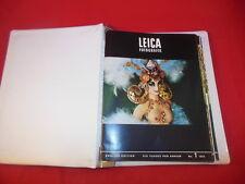 2E LEICA FOTOGRAFIE Photography Magazine 6 Issue Run 1973 Complete W/ Binder!
