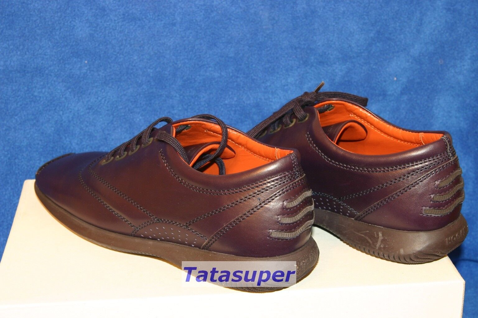 100% Authentic Authentic Authentic Hogan scarpe da ginnastica scarpe Dimensione 38 - viola 2f4cd1