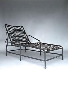 Vintage mid century tadao inouye brown jordan kantan patio for Brown jordan tamiami chaise