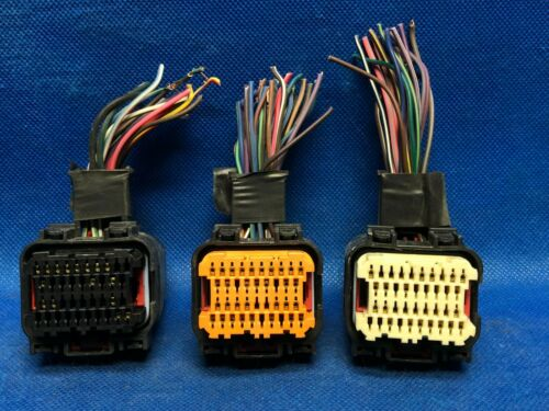 06 JEEP LIBERTY ECM ECU PCM WIRING HARNESS PLUGS CONNECTORS 939AD 959AB 939 959