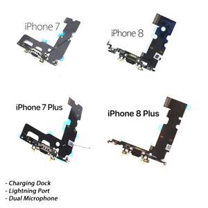 NEW iPhone 7/7 Plus iPhone 8/8 Plus Charging Port Lightning Dock Mic Replacement