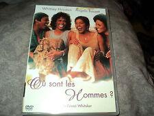 """DVD """"OU SONT LES HOMMES"""" Whitney HOUSTON, Angela BASSETT"""
