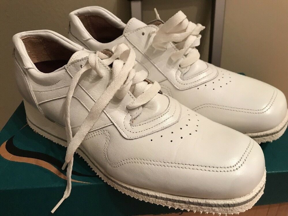 DREW ACTIVITY WOMENS WHITE LEATHER OXFORD SHOES 9 NEW IN BOX