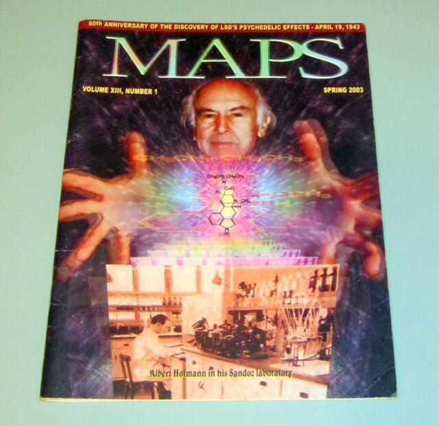 MAPS Albert Hofmann LSD Psychedelic CANNABIS MARIJUANA MDMA PEYOTE Ayahuasca