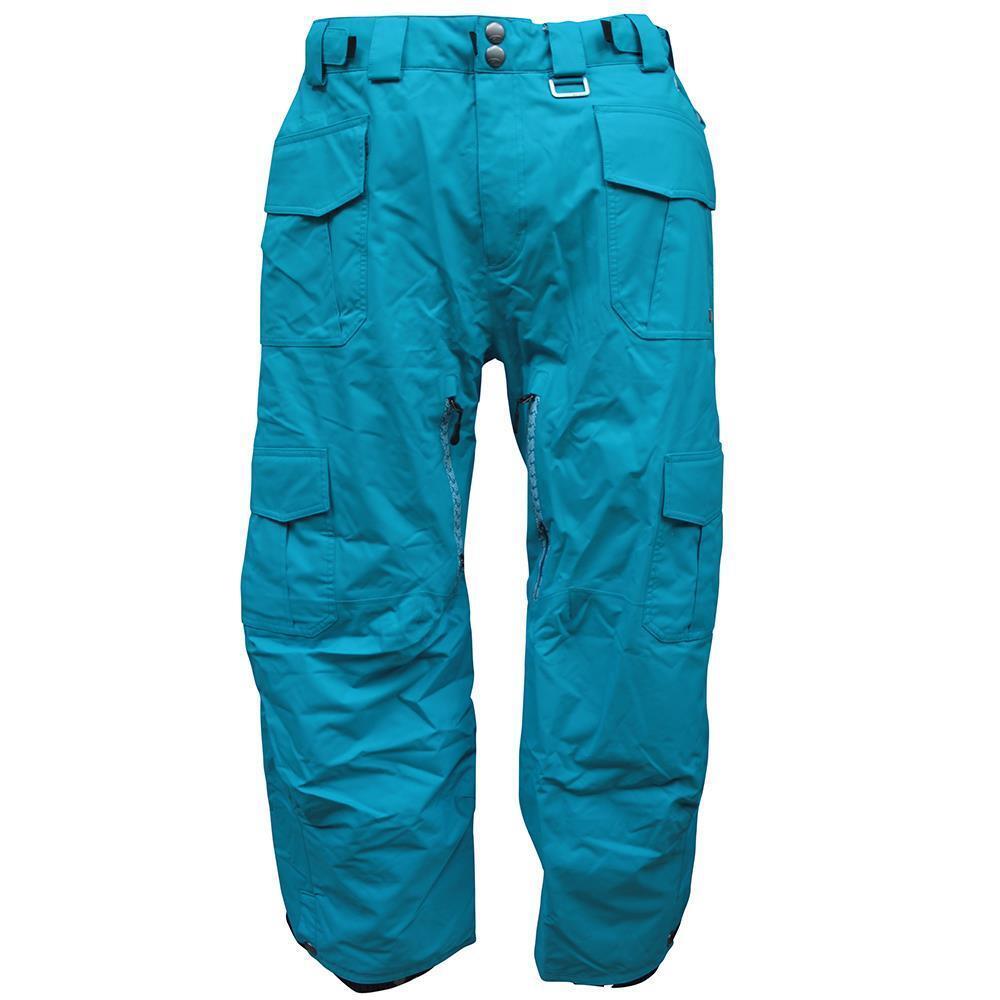 Rip Curl GENERATOR Snow Pants Mens Size L bluee Waterproof Ski Snow Board Pant