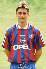Oliver Kreuzer Bayern München 1995-96 seltenes Foto+2