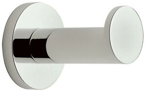 Ginger 0210H/PC Sine Collection Single Robe Hook in Polished Chrome Finish