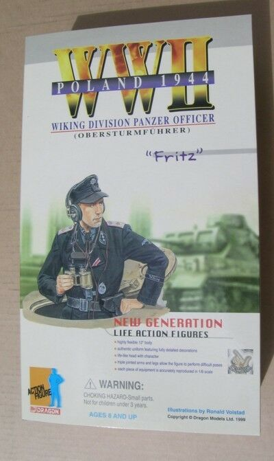 Dragon WWII Wiking Division Panzer officer Fritz Poland 1944