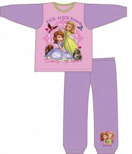 Girls pyjamas Princess Sofia kids pyjama set nightwear cotton 2-5 years