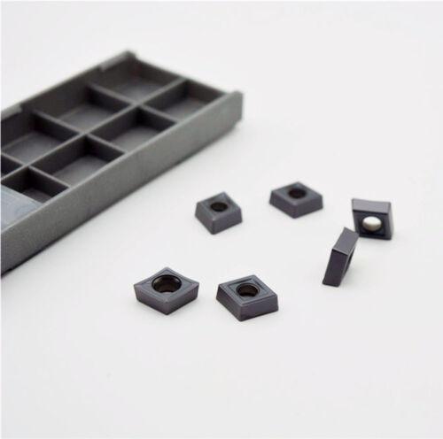 10* CCMT09T308 SM IC907 CCMT 3-2 SM CCMT32.52  Carbide Inserts CNC TOOL