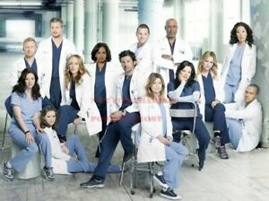 1 GREY/'S ANATOMY 80s 90s Poster TV Movie Photo Poster 24 by 36 inch