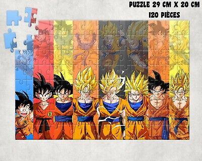PUZZLE 120 PIECES A4 Dragon Ball