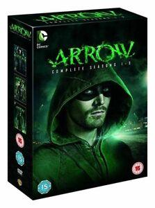COFFRET DVD SERIE FANTASTIQUE ACTION : ARROW - SAISON 1 A 3 COMPLETE - DC COMICS