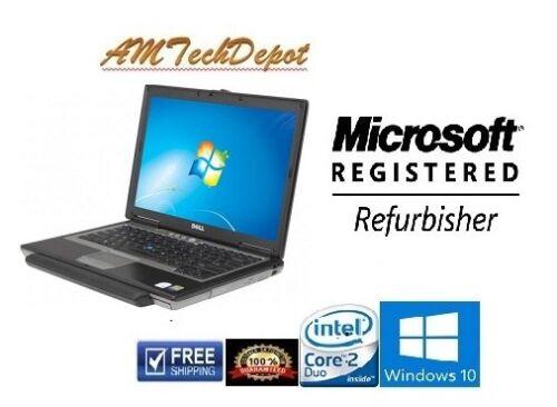 Dell Latitude D630 Intel Core 2 Duo Centrino 4GB RAM 160GB HDD Win 10 Pro 64-BIT
