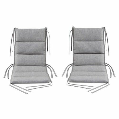 Superb Set Of 2 Modern By Dwell Magazine Outdoor Dining Chair Cushions Scotchgard Gray Gmtry Best Dining Table And Chair Ideas Images Gmtryco