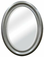 Mcs Brushed Nickel Oval Mirror Frame, 22.5 By 29.5-inch , New, Free Shipping on sale