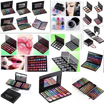 28/32/88/120 Eyeshadow Blush Lip Gloss Palette Concealer EyeLiner Makeup Set Lot