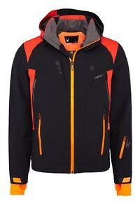 Spyder-Men-039-s-153030-001-Ski-Jacket-Bromont-Jacket-Black