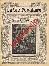 la vie populaire 115 22/11/1904 Incendie Ripolin Issy-les-Moulineaux Combat Coqs