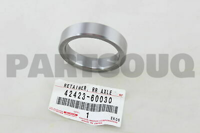 42423-20010 Axle Bearing Retainer Genuine Toyota Rear