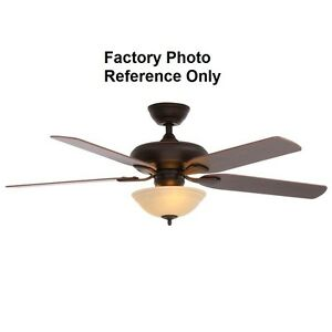 Hampton Bay Flowe 52 In Mediterranean Bronze Ceiling Fan