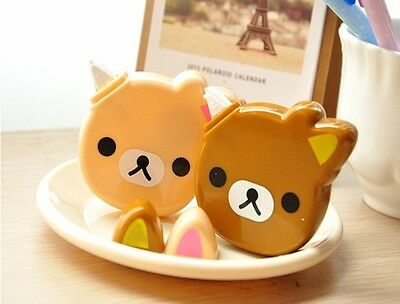 Cute Rilakkuma Bear correction tape stationery school UK Kawaii fun gift kids