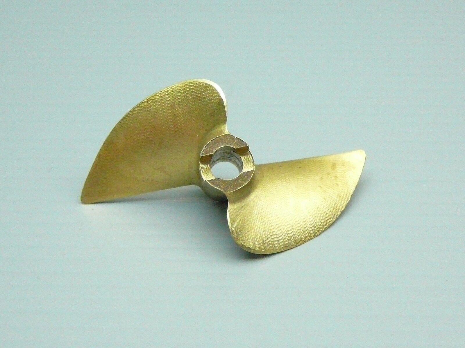 Vxp cnc - brass - legierung x445 45 mm 1.4p 3   16  2 blatt propeller - ep - Stiefel.