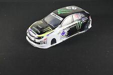 1/10 RC Car 190mm Body Shell Monster Energy Drift Subaru Impreza WRX STI 10th