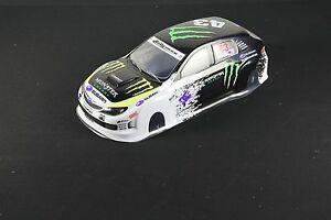Image Is Loading 1 10 RC Car 190mm Body Shell Monster