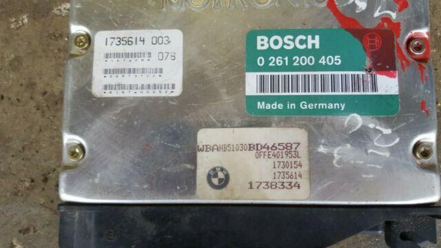 Bosch 0261200405 ECU DME BMW M50 M50B25 M50B20 ECU E36 325i 320i E34 520i 525i