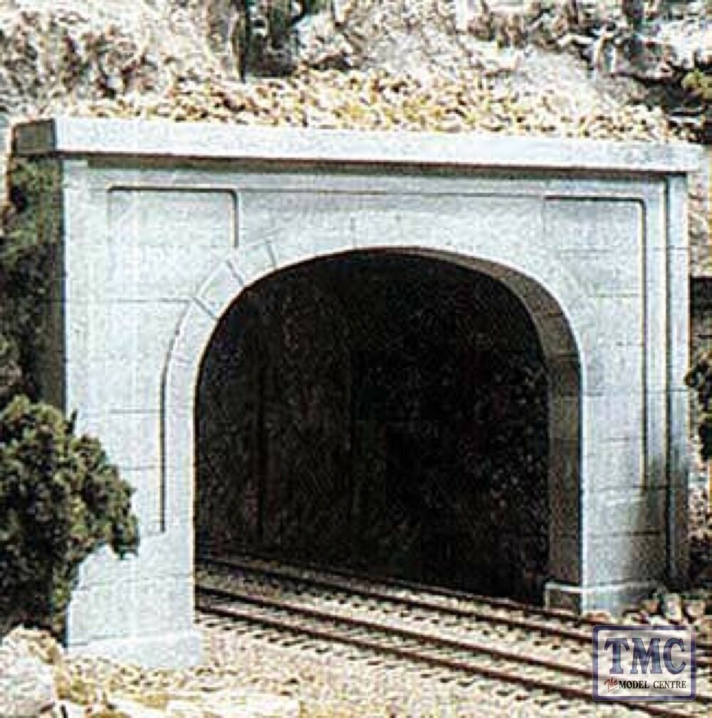C1256 Woodland Scenics OO HO Gauge Tunnel Tunnel Tunnel Port Concret Dnegro 1ea 8e761b