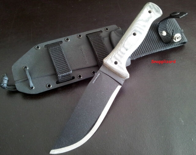 Condor Crotalus Micarta Knife + Kydex Molle Sheath Survival,Hunting,Bushcraft