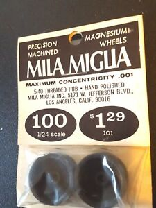 "Mila Miglia Precision Magnesium Wheels #700 ten hole 1//8/"" 5-40 threaded"