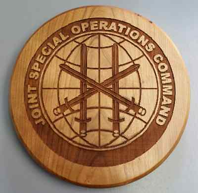 """JSOC Joint Special Operations Command  8.5"""" Wall Mountable Laser Engraved Seal"""