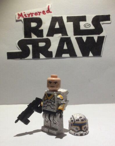 Lego Star Wars Minifigures-Clone Custom Troopers-Commando Gregor